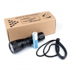 Brinyte DIV08 LED 850lm 4-Mode White Flashlight - Black (1 x 18650)