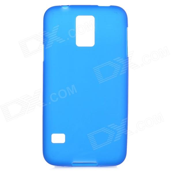Protective PVC + TPU Back Case w/ Screen Portector for Samsung Galaxy S5 - Dark Blue protective pvc tpu back case w screen protector for samsung galaxy s5 black