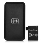 QI Wireless Charger Pad + Wireless Charger Receiver for Samsung Galaxy Note 3 / N9006 - Black