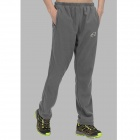 Wind Tour Outdoor Windproof Warm Mountaineer Long Pants for Men - Grey (Size L)
