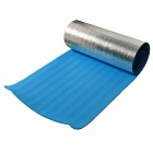 DEVINO M-3 Convenient Outdoor Light Thick Anti-damp Heat-insulation XPE Yoga Mat - Silver + Blue