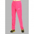 Wind Tour Outdoor Windproof Warm Mountaineer Long Pants for Women - Deep Pink (Size L)