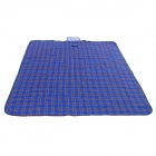 Wind Tour WT1014 Convenient Outdoor Anti-damp Polyacrylic Fiber Picnic Mat - Blue