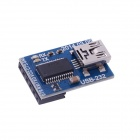 HJ FTDI Basic Breakout 5V USB to TTL 6-Pin Module for MWC MultiWii Lite / SE - Blue