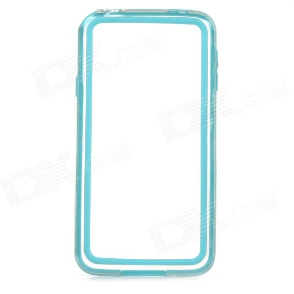VSer Ultrathin ABS Plastic Bumper Frame Case for Samsung Galaxy S5 - Light Blue + Transparent fluo blue color abs pla 1 75mm plastic consumables material