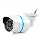 24-light Night Vision Waterproof CMOS Surveillance Camera w/ IR CUT - White