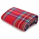 Muxincamp MXF-021 Convenient Outdoor Water Resistant Anti-damp Picnic Mat - Red + Blue