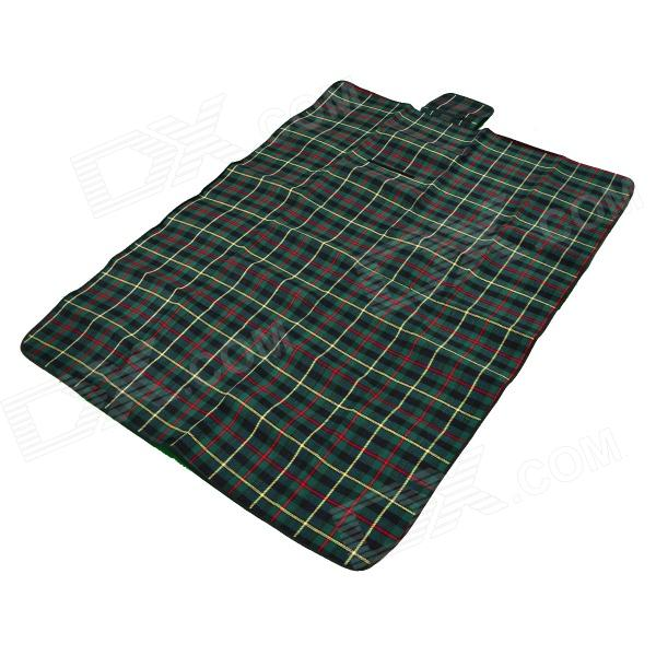 Muxincamp MXF-021 Convenient Outdoor Water Resistant Anti-damp Picnic Mat - Green + Black