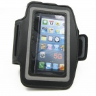IDOMAX Sport Gym Running Sweat Proof Armband Strap Case Cover for IPHONE 5 / 5S - Black