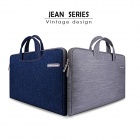 "Cartinoe Classic Jeans Laptop Inner Bag Sleeve for Apple MacBook Air / Pro 13.3"" - Denim Blue"