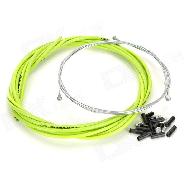 JAGWIRE 53085 Mountain Bike Disc Brake Line Tube Kit - Green 22 12 200mm od id length brass seamless pipe tube of astm c28000 cuzn40 cz109 c2800 h59 hollow bar iso certified industry