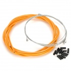 JAGWIRE 53085 Mountain Bike Disc Brake Line Tube Kit - Orange
