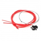 JAGWIRE 53085 Mountain Bike Disc Brake Line Tube Kit - Red