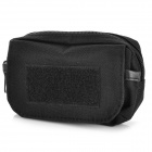 0101 Handy Outdoor 800D Water Resistant Fabric Cellphone / Accessory Waist Bag - Black