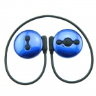 Avantree AS6P Sport Water Resistant Bluetooth V4.0 + EDR Stereo Headset w/ Microphone - Blue + Black