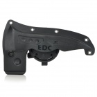 EDCGEAR M48 Handy Outdoor Adjustable Waist Mount ABS Axe Sheath - Black Grey