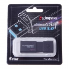 Kingston DT100G3-32G High Speed USB 3.0 Flash Drive - Black (32GB)