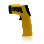 BSIDE BM300 Non-Contact Infrared Temperature Monitor Gun - Black + Yellow (1 x 6F22)