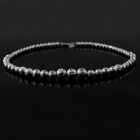 925 Round Beads Plating Silver Necklace