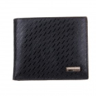 Beidi Erke B030-204 High-Grade Leather Wallet for Men - Black