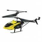 Brilink BH03 2-CH Rechargeable Indoor IR Remote Control Helicopter - Yellow + Black
