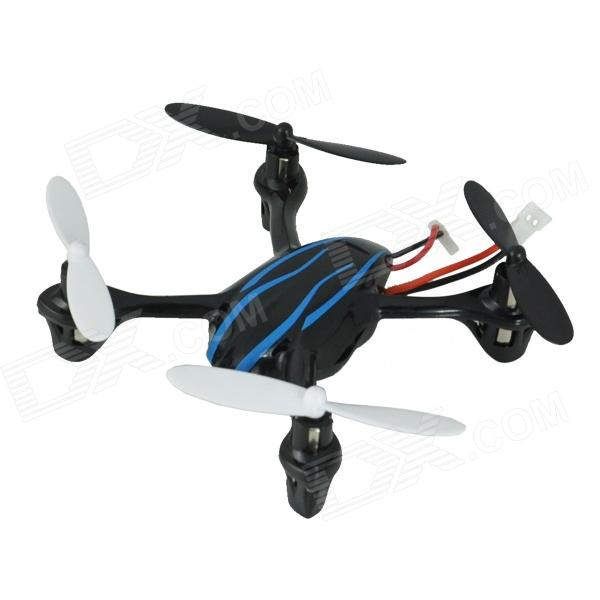 Brilink BH18 Mini 2.4G Radio Control 4-CH Quadcopter R/C Aircraft w/ 6-Axis Gyro - Black + Blue