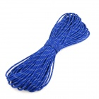 OUMILY Reflective Multi-Purpose Paracord Nylon Rope Cord - Reflective Blue (30M / 140KG)