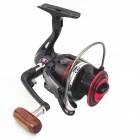 LiangJian LK3000 12+1 Aluminum Alloy Fishing Reel - Black + Red