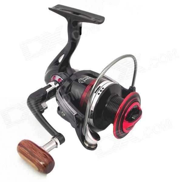 LiangJian LK6000 Aluminum Alloy 12+1 Fishing Reel - Red + Black orange saltwater spinning fishing reels with high carbon