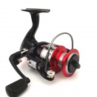 9 + 1 Non-clearance Shaft Head Spinning Wheel Fishing Line Round Wheel - Black + Red (Size-3000)