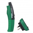 MASTECH MS5902(TB/R) Circuit Breaker Finder / Socket Tester - Black + Green
