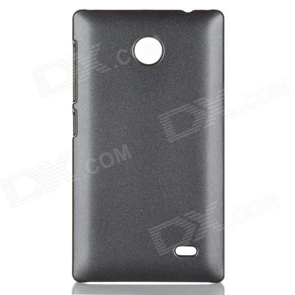 Protective PC Back Case for NOKIA X - Black ak11 gsm wrist watch phone w 1 33 touch screen tf bluetooth fm radio black