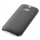 Protective PC Back Case for HTC One 2 M8 - Black