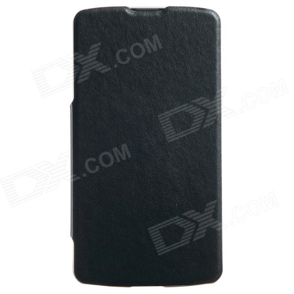 KALAIDENG Protective PU Leather Case Cover Stand for LG G Pro 2 - Black