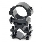 25.4mm Gun Mount Holder Clip Clamp for Flashlight - Black