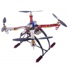 F450 Multicopter Quadcopter Frame + 4-Axis Frame Kit w/ Landing Gear - Black + Red