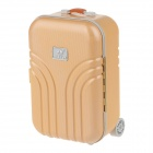 YADIAN NS0520 Fashion Suitcase Shape Piggy Bank - Orange