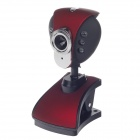 SHITIANXIA Clip Style 3.0 MP USB Digital Computer / Laptop Web Camera w/ 6 -LED Night Vision Lights