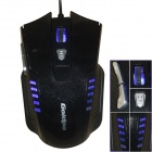 GOLDPO X-903 Wired USB 2400dpi Gaming Mouse -  Black