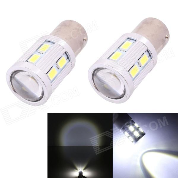 1156 11W 12-SMD 5630 + 1-LED 820lm Car Light Backup / Signal Light / Indicator Lamp (2 PCS)