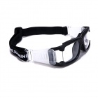 MR. Running Freizeit Brille Goggles - Transparent + Schwarz