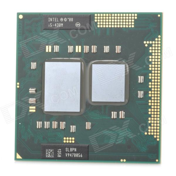 Intel Core i5 430M 430 2.26G 3M SLBPN LGA 1155 CPU for Laptop - Deep Green + Silver (Secondhand)