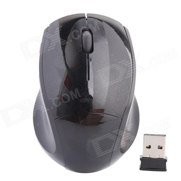 2.4G Wireless High-frequency 1000DPI Optical Mouse - Black