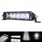 "7.2"" 30W 2400lm 6-LED 2700lm 30° Spot Work Light Bar Offroad SUV ATV Lamp - (9~45V)"