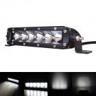 "7.2"" 30W 2400lm 6-LED 2700lm 60° Flood Work Light Bar Offroad SUV ATV Lamp - (9~45V)"