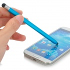S-What Handy Universal Aluminum Alloy Stylus for Touch Screen Cellphone / Tablet PC - Blue
