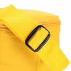 Creeper Oxford + Aluminum Film Ice isolamento térmico Bag Lunch Ombro - Amarelo