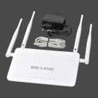 LB-LINK L-WR4300H 300Mbps Wireless Router w / 4-Antena - Negro