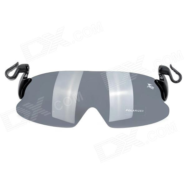 Panlees JM001 Outdoor Fishing / Golfing UV Protection Replacement Polarized Lens w/ Hook - Grey