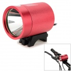 UltraFire MT-40 CREE XM-L T6 600LM 3-Mode Cool White Bicycle Lamp - Red + Black